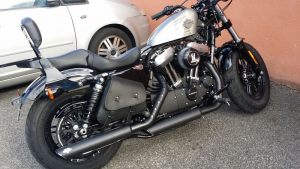 Sacoches Myleatherbikes Harley Sportster Forty Eight (57)